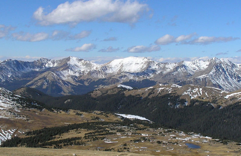 Mountain view at Aspen Winds.