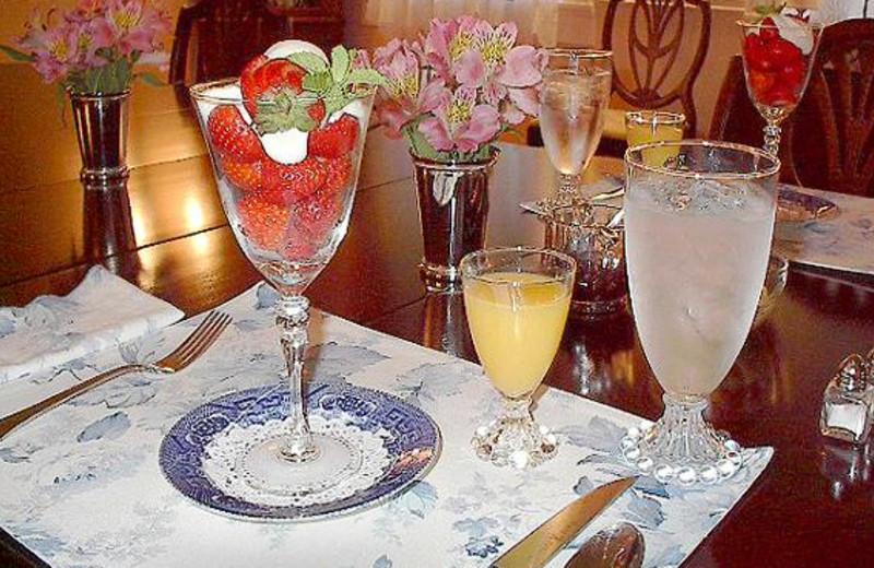 Dining at Harper-Chesser Inn B & B.