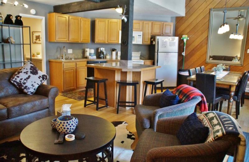 Rental interior at Nomadness Rentals.