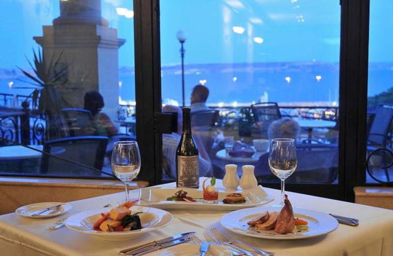 Dining at L-Imgarr Hotel Gozo.