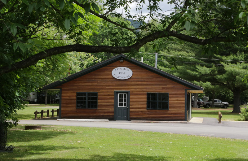 Exterior view of Glen Ellis Family Campground.