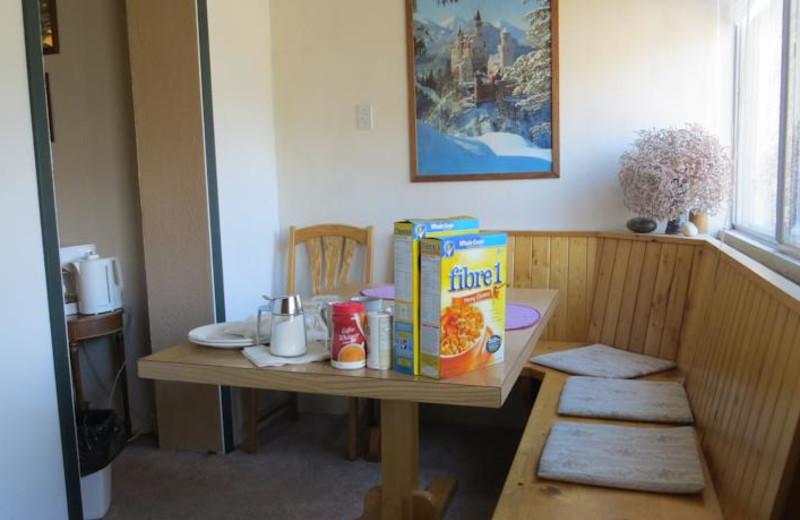 Breakfast at Heidi's Bed & Breakfast.
