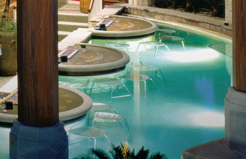Swim Up Black Jack at Hard Rock Hotel
