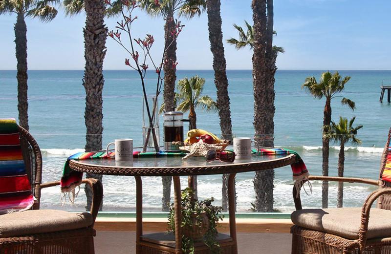 Balcony view at Casa Tropicana Inn & Spa.