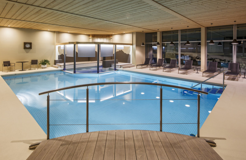 Indoor pool at TOP Park Hotel Beausite.