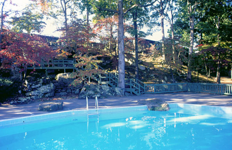 Outdoor pool at Red Apple Inn and Country Club.