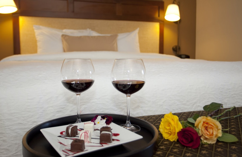 Room service at Hampton Inn & Suites Jekyll Island.