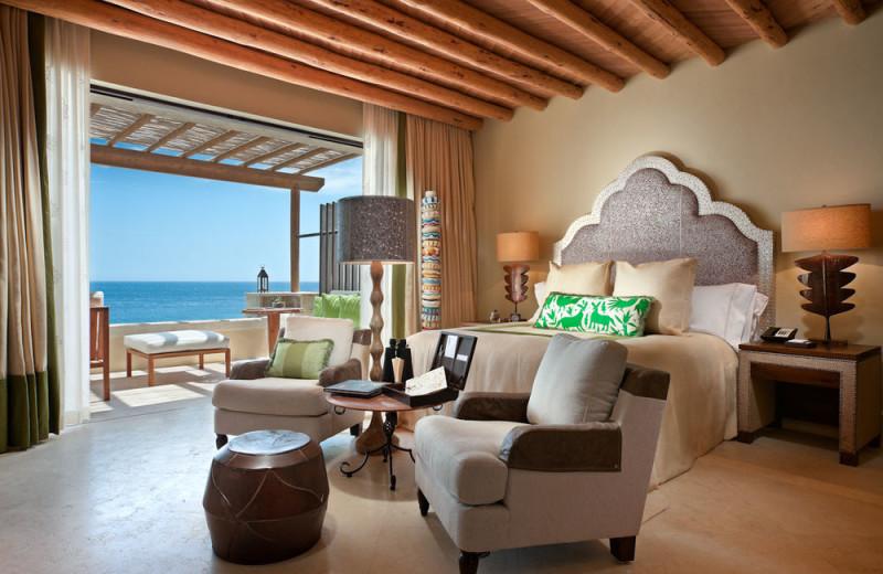 Guest room at Capella Pedregal.