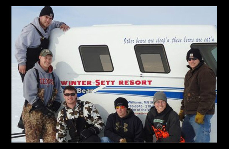 Group at Winter-Sett Resort.