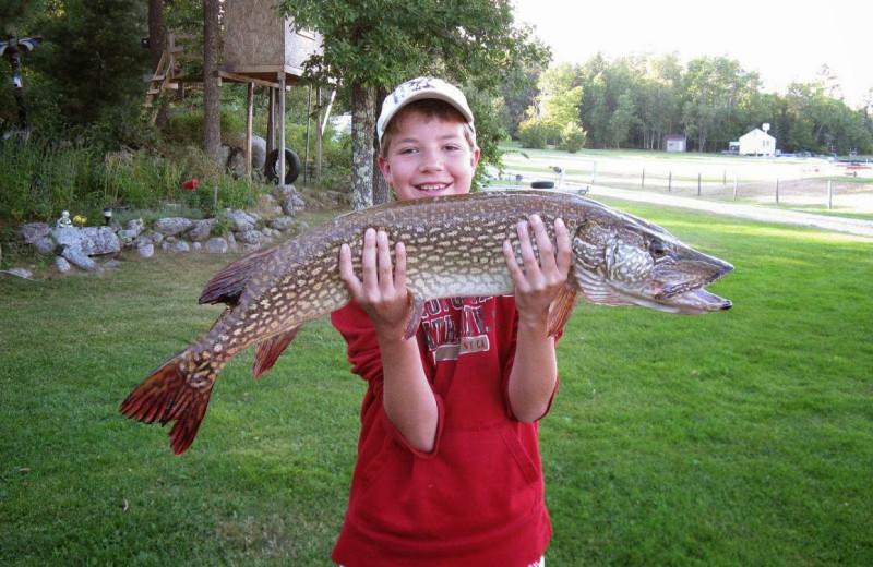 Fishing at Herseth's Tomahawk Resort.