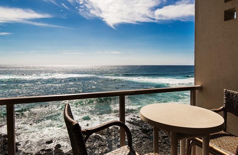 Vacation rental balcony at Great Vacation Retreats.