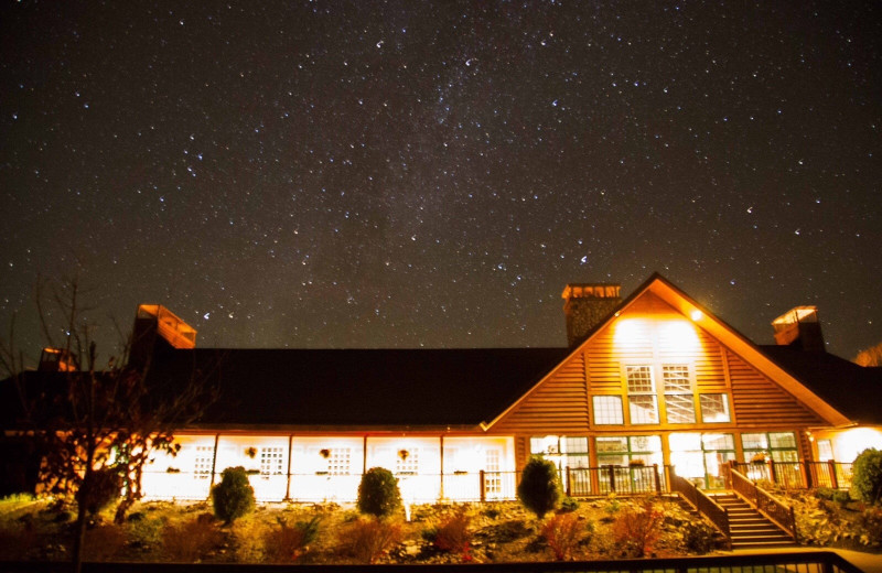 Starry sky at Hanah Mountain Resort & Country Club.