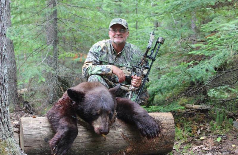 Hunting at Woman River Camp