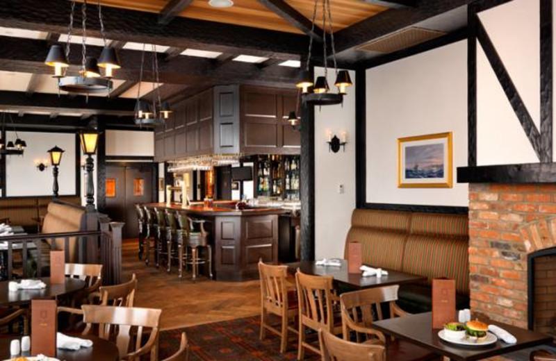 The Snug Pub at Oak Bay Beach Hotel.