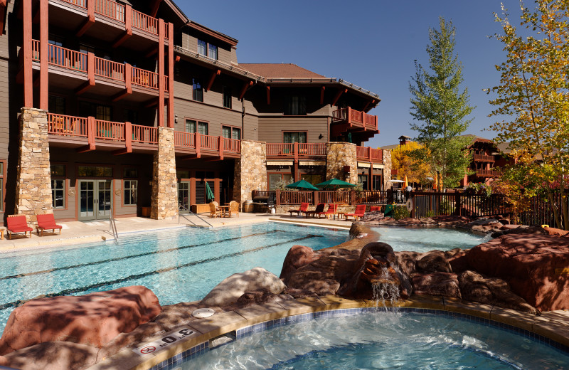 Rental outdoor pool at Frias Properties of Aspen.