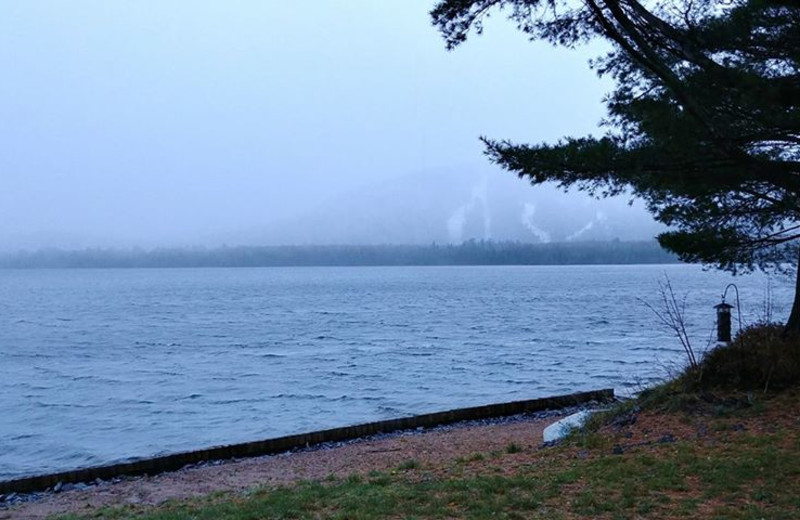 Lake view at Wilderness Resort Cabins