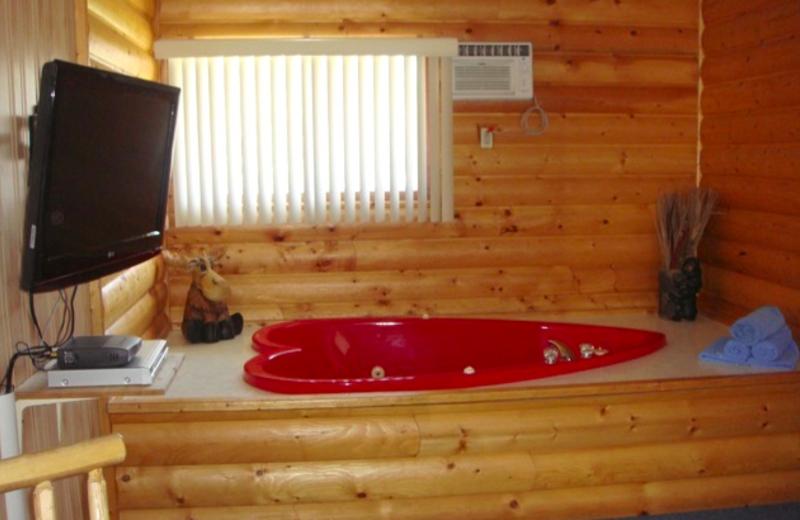 Guest bathroom at Keystone Resort.