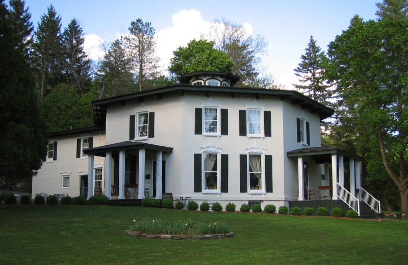 Exterior view of Black Sheep Inn and Spa.