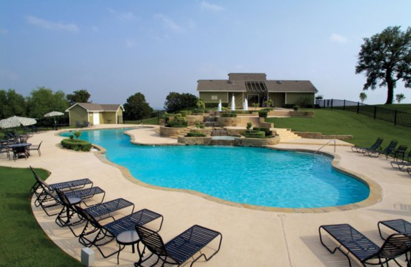 Outdoor pool at White Bluff Resort.