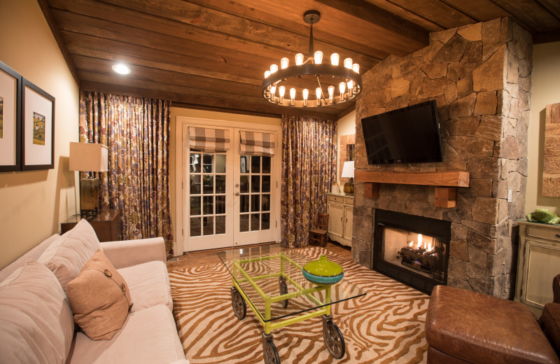 Guest cottage at The Inn at Willow Grove.