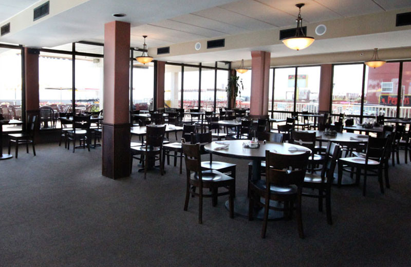 The Oceanview Grill at Quality Inn Boardwalk Ocean City.
