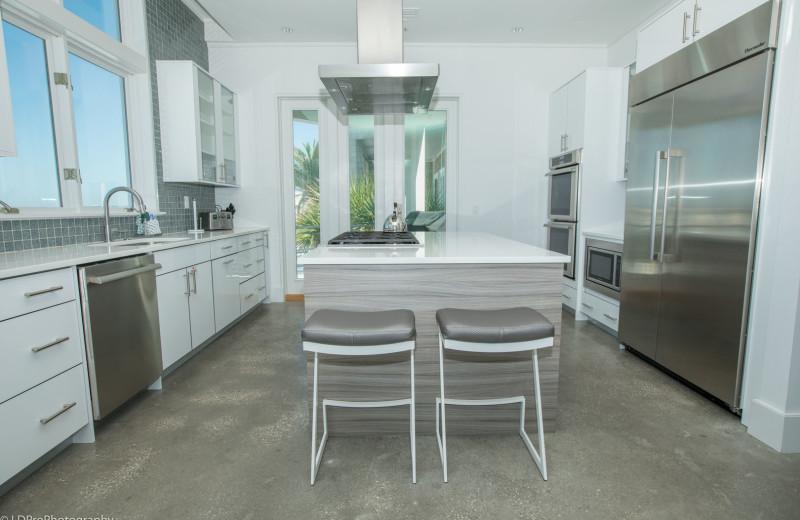 Rental kitchen at Holiday Isle Properties, Inc.