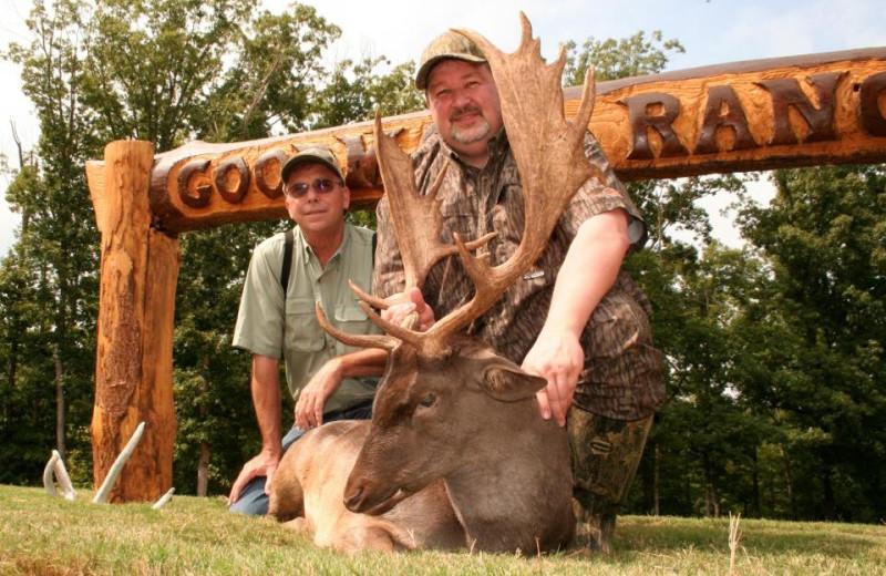 Fallow hunting at Goodman Ranch.