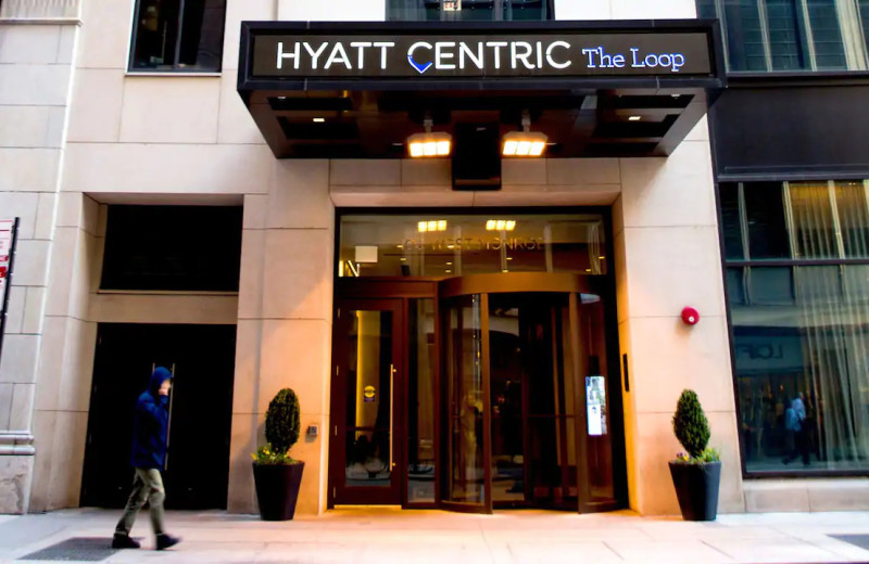 Exterior view of Hyatt Centric the Loop Chicago.