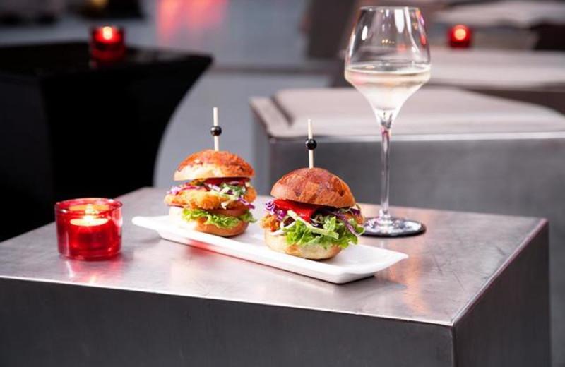 Dining at BLUE Sydney.