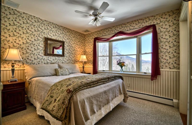 Guest room at Darby Field Inn.