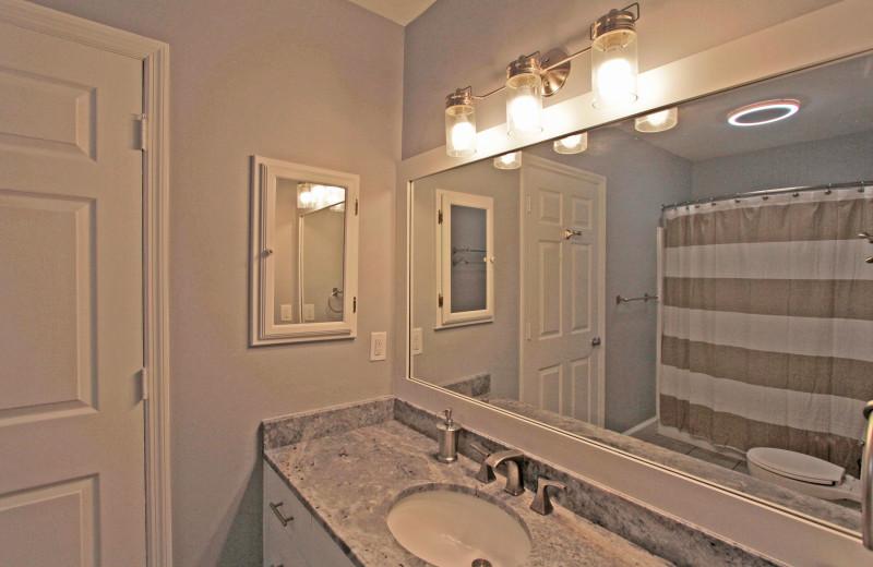 Bathroom at Palm Blvd 2403 Down.