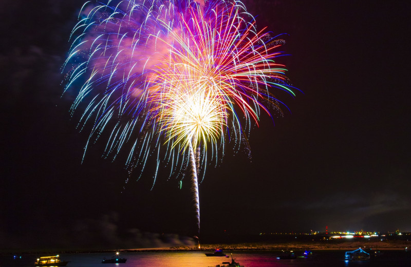 Fireworks at Holiday Isle Properties, Inc.