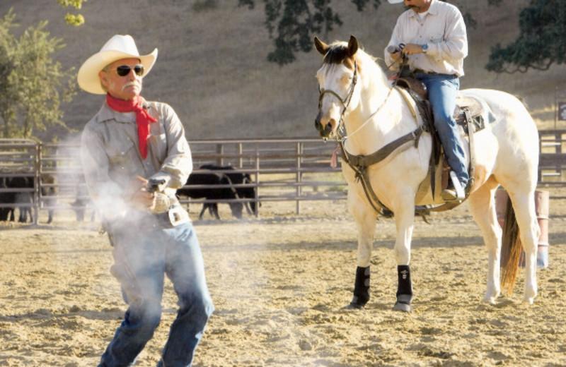 Cowboys at Alisal Guest Ranch and Resort.