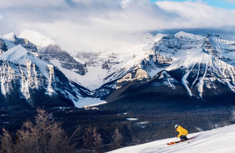 Ski near Tunnel Mountain Resort