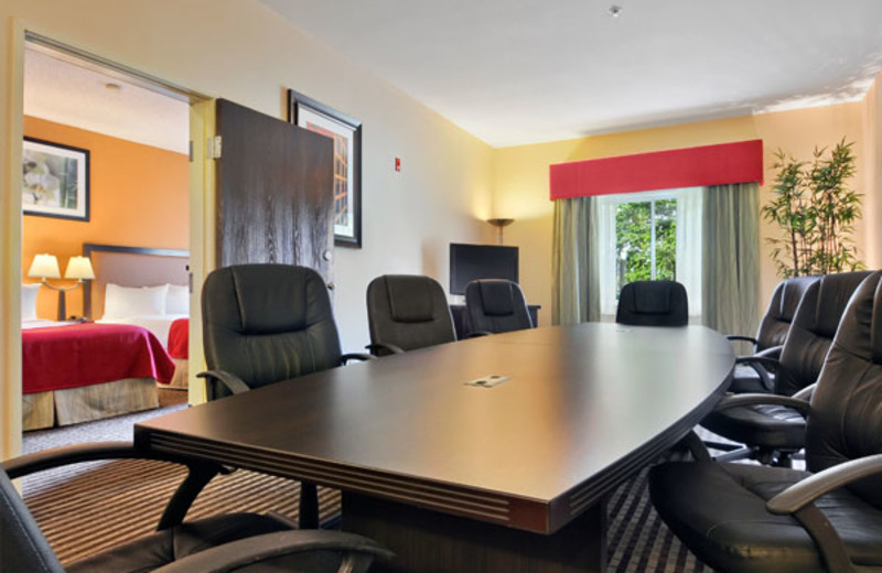 Meeting room at Baymont Inn & Suites Dallas Love Field North.