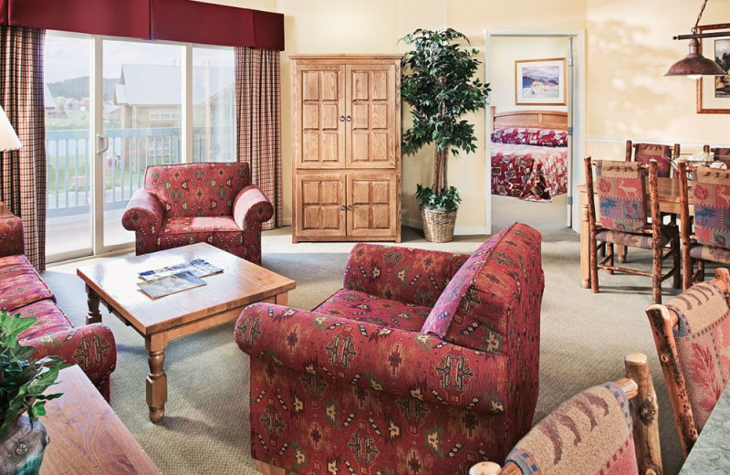 Guest suite at Wyndham Pagosa.