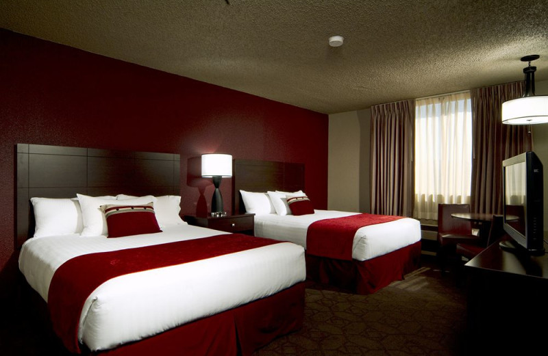 Guest room at Edgewater Hotel & Casino.
