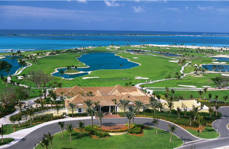 Golf course at Atlantis, Paradise Island.