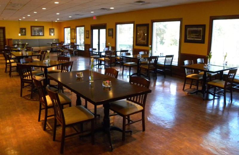 Dining room at Sea Trail Resort.