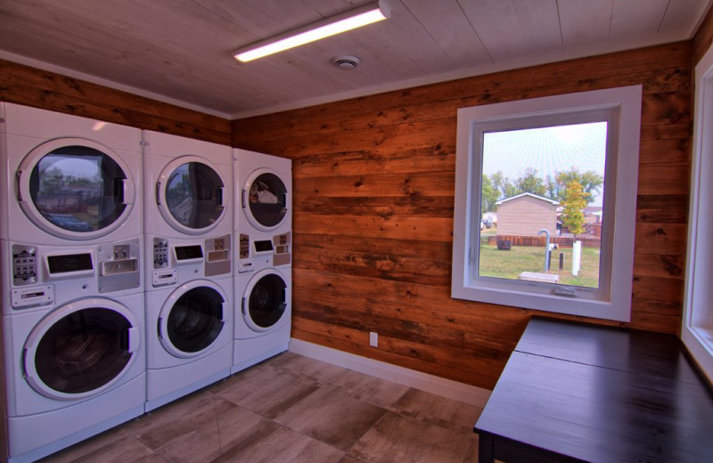 Laundry at Great Blue Resorts- Bellmere Winds Resort.