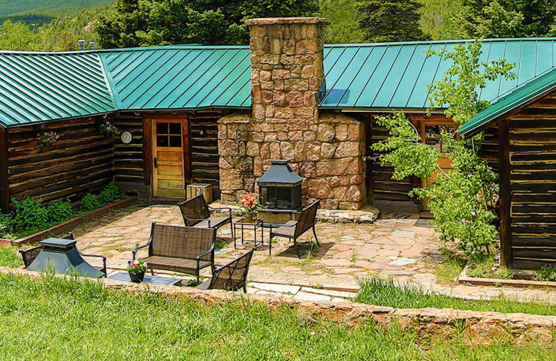 Cabin at Wind River Ranch.