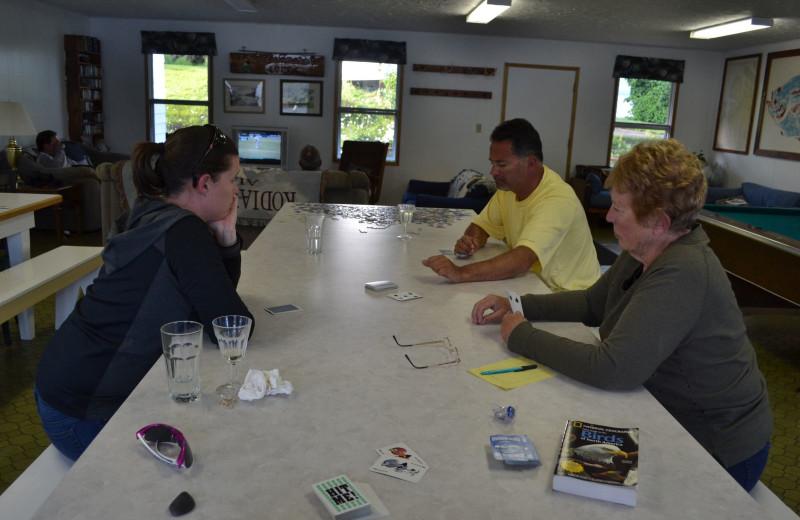 Group at Zachar Bay Lodge.