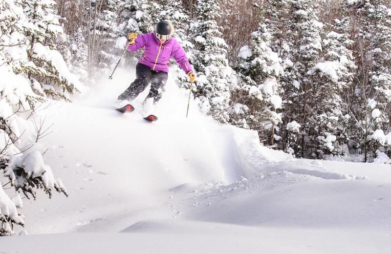 Skiing at Eastern Slope Inn Resort.
