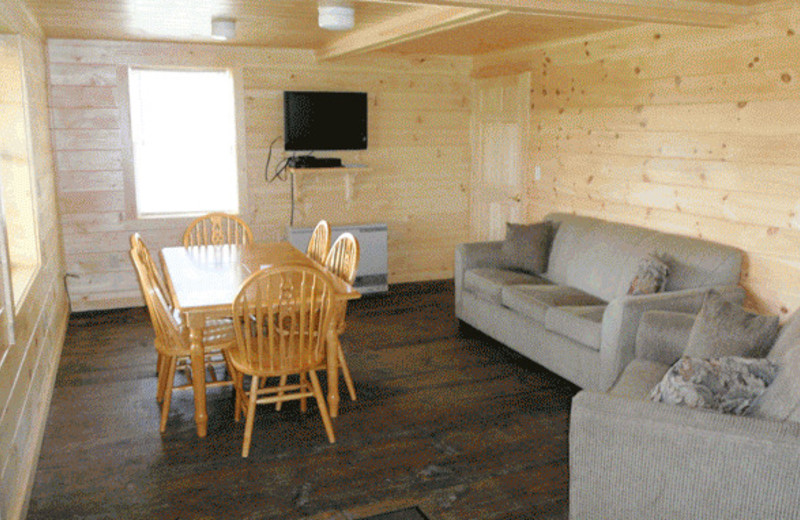 Living Room at North Country Rivers