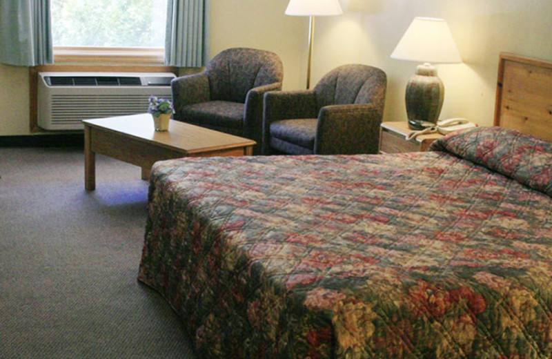 Guest room at Four Seasons Inn.