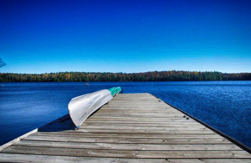 Dock at Bonnie Lake Resort.
