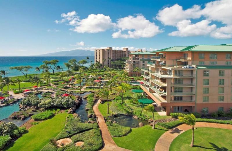 Exterior view of Honua Kai Resort & Spa.