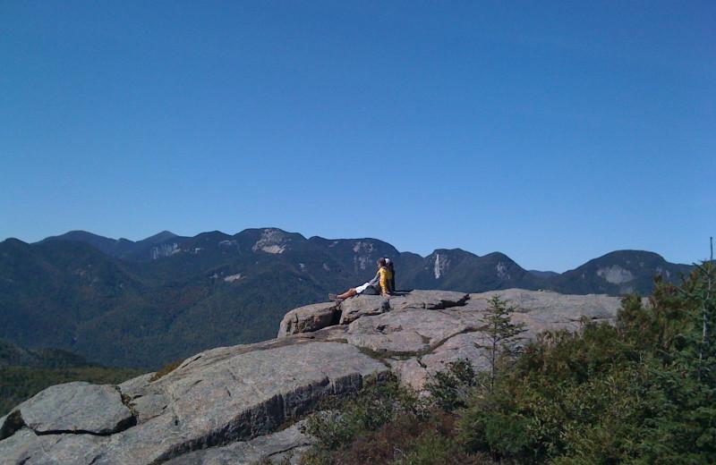 Hiking at Owaissa Club Vacation Rentals.
