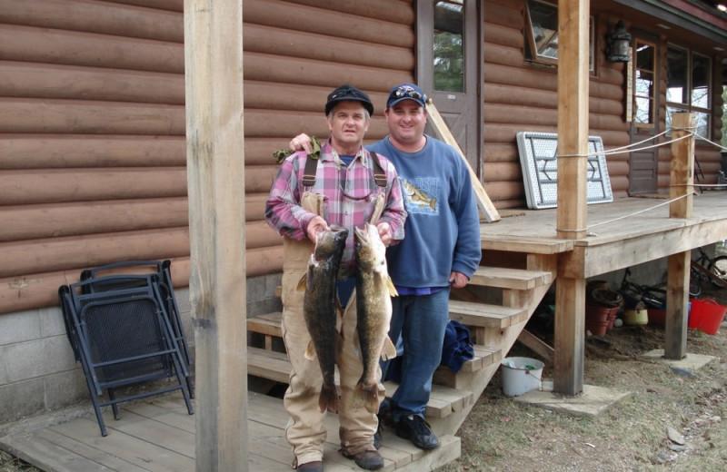 Fish at Heston's Lodge.