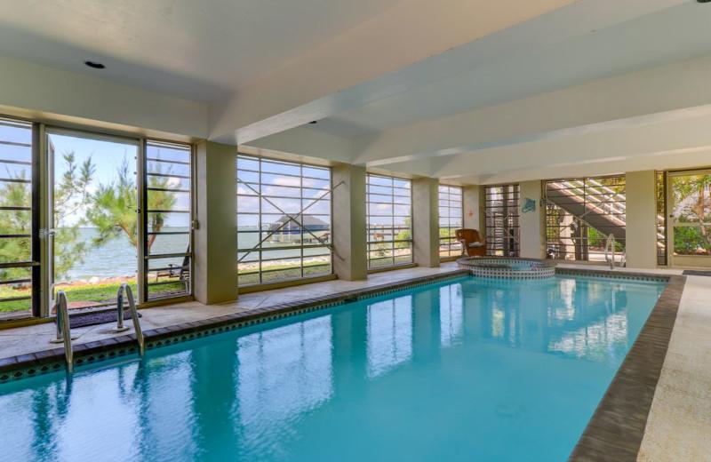 Rental pool at Sanibel Vacations.